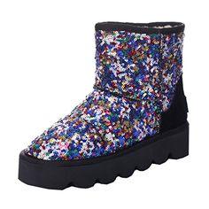 ENMAYERブラックさん冬の新ラウンドスパンコール重い底のブーツ冬の雪のブーツの靴ショートブーツ34 ENMAYER https://www.amazon.co.jp/dp/B01N2NIF5W/ref=cm_sw_r_pi_dp_x_rnppyb6AGNDS4