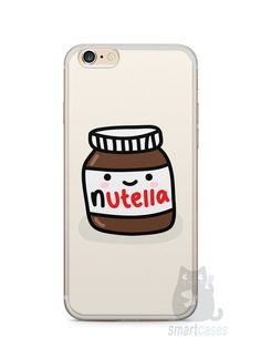 Capa Iphone 6/S Plus Nutella #2 - SmartCases - Acessórios para celulares e tablets :) - http://amzn.to/2h26UWh