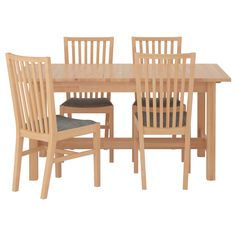 $615, NORDEN/NORRNÄS Table and 4 chairs - IKEA,