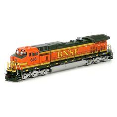 HO RTR C44-9W, BNSF/Heritage II #658 (ATH77955): Athearn Trains