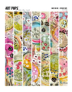 ART POPS Sticker Tape from the Wait For Me by Robenmariesmith