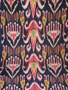 Double Ikat is a technique in which both warp and the weft are resist-dyed prior to stringing on the loom. Double ikat is only produced in three countries, India, Japan and Indonesia. The double ikat of Japan is a type of kasuri. It is woven in the Okinawa islands where it is called tate-yoko gasuri.[2] In Indonesia it is only made in one small Bali Aga village, Tenganan in east Bali.[3] The double ikat of India is predominantly woven in Gujarat and is called patola.