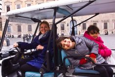 Golf Cart Tours for kids Rome
