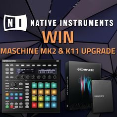 Make sure you enter the PMT East London Native Instrument Giveaway - the prize is awesome! T&Cs apply, ask in store for more details.