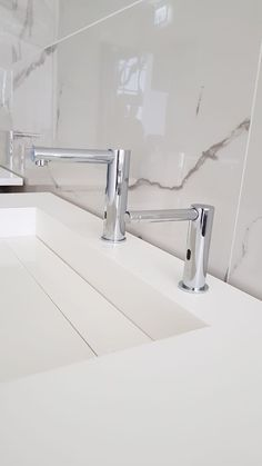 Touch free taps and automatic soap dispensers by Stern installed at an international private events room Taps, Faucets, Sanitary Products, Automatic Soap Dispenser, Soap Dispensers, Sink, Touch, Events, Detail