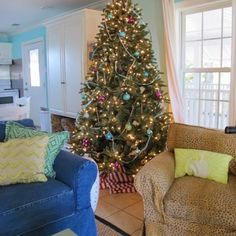 "We had so much fun on the tour and I took a few pictures to share with you. These are from steps to the beach"" cottage, ""The White Hou. 99 Steps, Beach Cottages, Christmas Tree, Tours, Holiday Decor, Fun, Christmas Florida, Pictures, Inspiration"