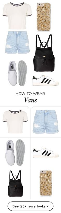 """""""Try something new Thursday"""" by stephanie-rozek-paris on Polyvore featuring moda, Topshop, adidas, Vans e Dolce&Gabbana"""