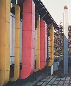 "Archinerds on Instagram: ""B&B Italia Headquarters, Renzo Piano and Richard Rogers, Novedrate.⠀ #archinerds #architecture #rpbw #richardrogers #renzopiano…"""