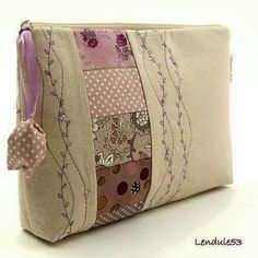 Ohhh I like! Too bad I don't know how to hand embroider! So pretty & delicate!