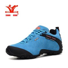 54.99$  Watch here - http://ali7q5.shopchina.info/1/go.php?t=32734272660 - XIANGGUAN 01 suede leather waterproof high quality lovers hiking shoes Men women's low comfortable leisure outdoor shoes 81285  #magazineonline