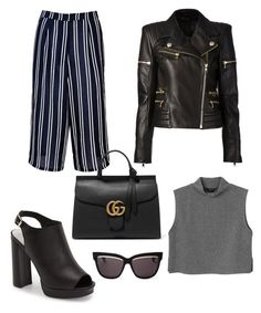 Untitled #58 by vfranko on Polyvore featuring polyvore, fashion, style, Monki, Balmain, Glamorous, Jeffrey Campbell, Gucci, Christian Dior, women's clothing, women's fashion, women, female, woman, misses and juniors
