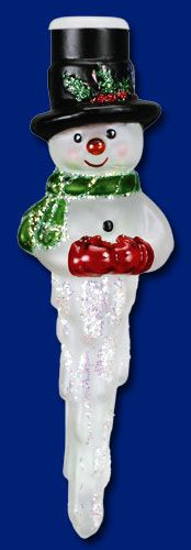 *SNOWMAN ~ Old World Christmas Light Covers