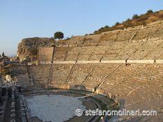 Theater van Efeze -Turkije