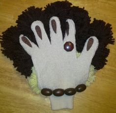 Handmade Dusting Glove Gift Everyone Loves. by CreationsByFrannie