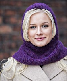 Alpakkahuppu Balaclava, Beanie Hats, Beanies, Crafts To Do, Handicraft, Knitted Hats, Knit Crochet, Textiles, Hoodies