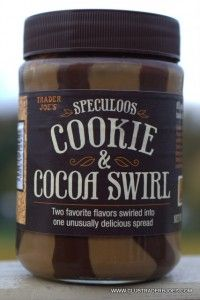 Trader Joe's has another speculoos creation Cookie and Cocoa Swirl! This is my favorite one yet!