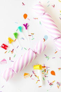 Birthday Confetti Popper