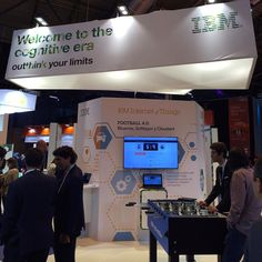 En el stand de #IBM en #DES2016 :) #TransformacionDigital #Cloud #bluemix #mobile