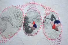 Love these Utterly amazing works by Sophie MORILLE Designer textile/ Artiste Plasticienne