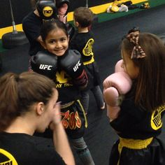 The young ladies (5yrs old) of TAG working on a four count with Coach Sarah!  Visit www.tagmuaythai.com and follow us @tagmuaythai #muaythai #thaiboxing #kidsmma #kidsmartialarts #chicsrule #girlpower #cutebutdeadly