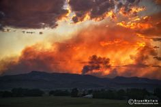 Colorado High Park Fire