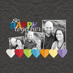So happy together layout