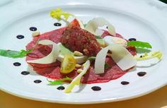 Carpaccio.. My absolute favorite thing to get when we get Italian