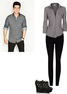 """""""Girl Version of Logan Henderson. (imagine in the description)"""" by delaney-ii ❤ liked on Polyvore"""