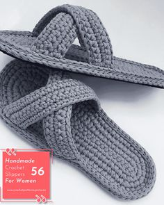 It is time to put aside the slippers you use in your house. The reason for such ambitious speech; Crochet Crafts, Hand Crochet, Crochet Stitches, Knit Crochet, Crochet Birds, Crochet Sandals, Crochet Baby Shoes, Diy Crochet Slippers, Felted Slippers
