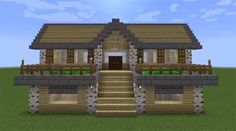 Find 10 ideas for cool Minecraft houses to build in survival mode. Learn to build easy medieval and modern Minecraft house designs. Big Minecraft Houses, Minecraft Farmen, Minecraft House Plans, Minecraft Cottage, Minecraft House Tutorials, Minecraft Houses Survival, Minecraft Houses Blueprints, Minecraft House Designs, Minecraft Tutorial