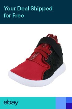 super popular 1a5d5 abf48 New Jordan Eclipse Chukka BT 881456-001 Black-White-Red-Toddler Infant Size  5-10