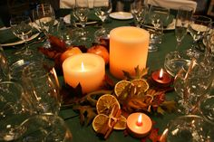 need some autum ornamentation for a dinner party