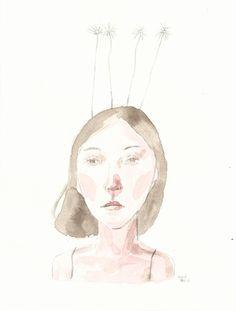 ( Watercolor Print  I )    17x23 cm     20€