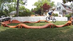Wooden Pump Tracks . . . . - Page 4 - Pinkbike Forum