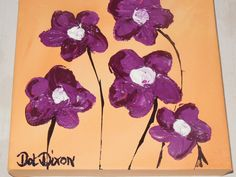 Purple posies Color Of Life, Minnie Mouse, Disney Characters, Fictional Characters, Dots, Colour, Purple, Stitches, Color