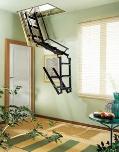 Best How To Build An Attic Access Ladder Attic Access Ladder And Attic 400 x 300