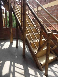 Bamboo Stairs   Google Search