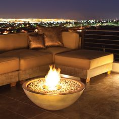 Exotic Decor Of Apartments | Fire Place and Pits