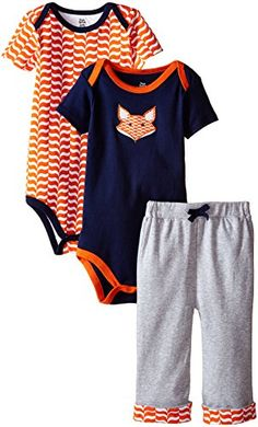 Yoga Sprout Baby-Boys 3 Piece 2 Bodysuits and Pant Set Fox, Fox, 0-3 Months Yoga Sprout http://www.amazon.com/dp/B00P001L26/ref=cm_sw_r_pi_dp_earVwb1B9BJQR