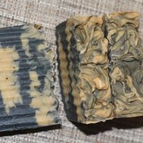 A mysterious combination of amber, cardamom and Madagascar vanilla. A decidedly masculine scent in an olive oil based soap. Activated charcoal is thickly swirled throughout, with orange accents in the middle, giving it the look of its namesake and giving it natural detoxifying charachteristics.