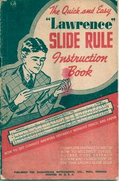 I actually learned how to use a slide rule just as calculators were coming onto the scene. Guess that makes me old.