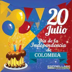 El 20 de julio de 1810 fue el inicio de los sucesos que cambiaron la historia de Colombia. La historia nos dice que todo comenzó con un florero. Era viernes - 20 de julio y día de mercado - cuando un criollo fue a pedir prestado un florero. Colombia Travel, Peru, Country, Google, Dress, Colombian Flag, Happy Independence Day, Bogota Colombia, Circus Party