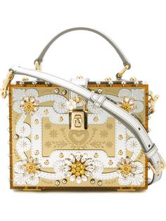 d94f8b555a DOLCE   GABBANA Engraved  Dolce  Box Tote.  dolcegabbana  bags  shoulder  bags  hand bags  leather  tote  crystal