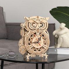 Owl Clock | 161 Pieces