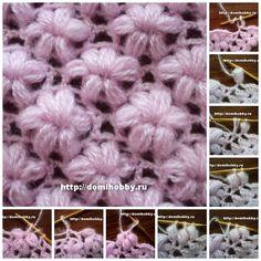 Crochet Shawl + Diagrams + Free Pattern Step By Step