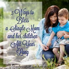 Looking for a way to bless a single mom and her children this holiday season? Here are 5 ideas to get you started!