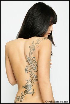 I really want a back tattoo