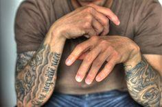 tattoo, man, hot