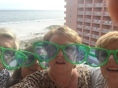 Clubwomen from the Southern Region take a selfie at Perdido Beach!