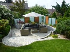 gartengestaltung – Google-Suche Gardening, Outdoor Furniture Sets, Outdoor Decor, Pergola Patio, Home Decor, Cooking, Google, Garden Design Pictures, Searching
